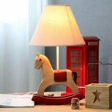 New Rocking Horse Desk Lamp Kids Bedroom Lighting Adjustable Brightness Ebay