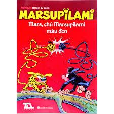 Truyện tranh - Marsupilami tập 3 - Mars, chú marsupilami màu đen