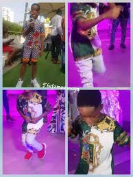 wizkid s son dances zanku at his