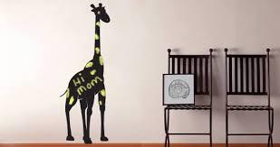 Happy Giraffe Wall Decals Chalkboard Dezign With A Z