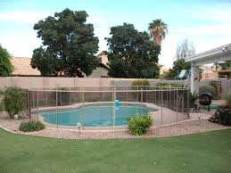 Arizona Pool Fence Of Tucson Only Carries The Premium Interlock Removable Mesh Tucson Pool Safety Fence Pool Safety Fence Pool Fence Removable Pool Fence