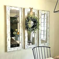 dining room mirror decor ideas adorable