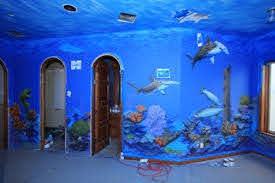 Beach And Ocean Themed Rooms Ocean Themed Rooms Ocean Themed Bedroom Ocean Mural