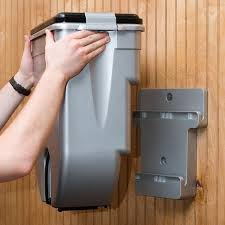 wall mounted dog food dispenser