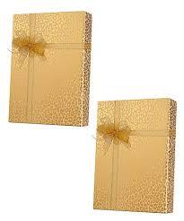 innisbrook gold leopard gift wrap set