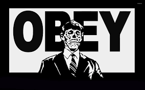 zombie obey wallpaper vector