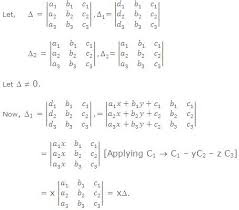 system of linear equations study
