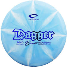 Amazon.com : Latitude 64 Zero Hard Burst Dagger Putt & Approach Golf Disc  [Colors May Vary] - 173-176g : Sports & Outdoors