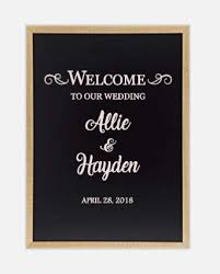 Welcome To Our Wedding Vinyl Decal For Mirror Wedding Decal Vinyl Decal Decal Only