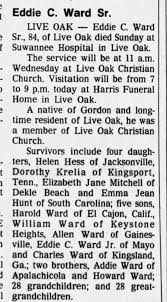obit Eddie Ward Sr - Newspapers.com