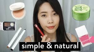 simple natural ala korea