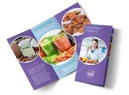 health nutrition experts brochure