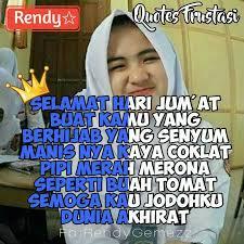 quotes frustasi selamat hari jum at 😇 ~rendy like comen