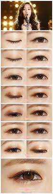 korean eye makeup tutorial saubhaya