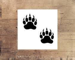 Bear Tracks Etsy