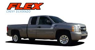 Flex Silverado Door Stripes Silverado Decals Silverado Vinyl Graphics