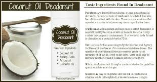 coconut oil deodorant the coconut mama