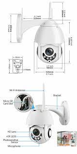 Camera giám sát wifi IP không dây ngoài trời XM08 1080p Full HD - Thiết bị  an ninh thông minh gia đình