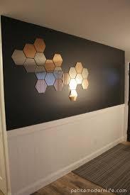 honeycomb mirrors petite modern life