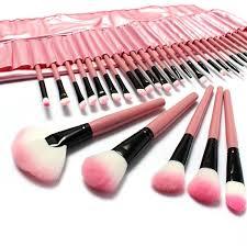 luckyfine 32pcs makeup brushes set