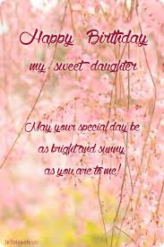 happy birthday wishes for daughter from mom and dad