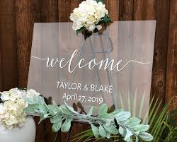 Personalized Wedding Vinyl Wall Sticker Mural Custom Welcome Sign Decal Name Date Rustic Wedding Mirror Board Poster Decor J172 Aliexpress Com Imall Com
