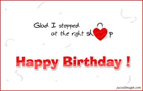 glod i stopped at the right shop happy birthday com