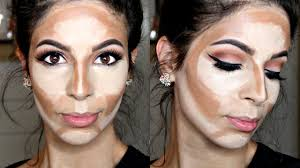 how to cream contour highlight