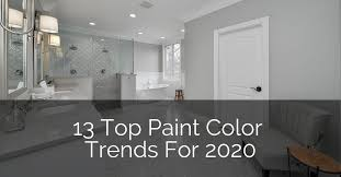 13 top paint color trends for 2020
