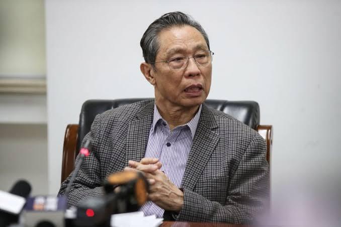 Zhong Nanshan ile ilgili görsel sonucu