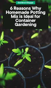 6 reasons why homemade potting mix is