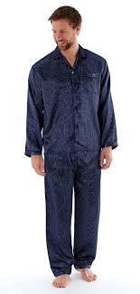 Mens Luxury Satin Pyjamas Traditional Silky Pjs Button Lounge Set Nightwear  Gift | eBay