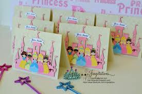 Disney Princess Birthday Invitations Convites Invitaciones 2