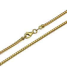 14k gold franco chain 2mm solid gold
