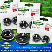 Petsafe Rfa 67d 11 Batteries Wireless Dog Fence Collar Pif 275 19 Pul 275 Qty 6 729849105423 Ebay