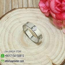 cartier love wedding band white gold