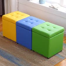 Small Storage Stool Modern Sofa Fashionable Bench Creative Storage Bench Kids Furniture Vanity Stools Synthetic Leather Aliexpress