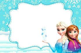Frozen Invitaciones Cumpleanos Frozen Hacer Invitaciones De