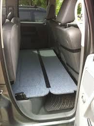 rear seat folding dog platform ram