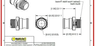 standard garden hose fitting diameter