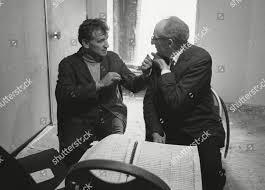 Leonard Bernstein Aaron Copland During break rehearsal Editorial Stock  Photo - Stock Image | Shutterstock