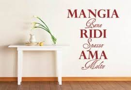 Mangia Wall Quotes Decals Wall Sticker Wall Stickers