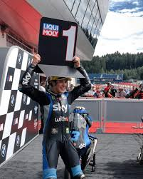 Celestino Vietti wins the first race of his career! : motogp