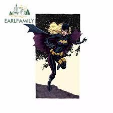 Earlfamily 13cm X 10cm For Marvel Batman Heroine Vinyl Car Wrap Occlusion Scratch Car Stickers Cartoon Decal For Motorcycle Van Car Stickers Aliexpress