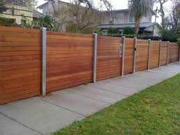 Horizontal Wood With Aluminum Posts 1 Power Fence