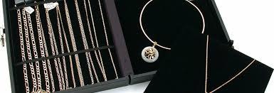 travel jewelry display cases