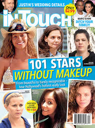stars without makeup see katie holmes