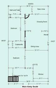house plan for 45 24 ft plot