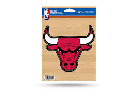Chicago Bulls Window Decal Sticker Nba Officially Licensed Custom Sticker Shop