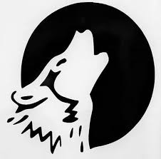 Howling Full Moon Wolf Silhouette Car Truck Window Vinyl Decal Sticker 12 Colors 4 00 Picclick